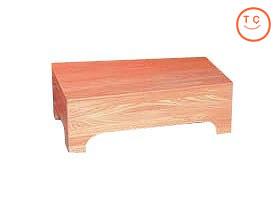 木製高級踏台 [楡] 大(福祉)(介護用品)() (介護用品 介護 福祉用具 安心 安全 TCマート シルバー用品 通販 )