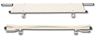 2ツ折 担架 伸縮式 [スチールパイプ] (介護用品 施設 デイサービス 備品 病院 老人 お年寄り 高齢者)( 母の日 プレゼント 2019 )