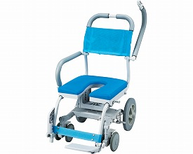 シャワーキャリー 送料無料 くるくるチェアD / KRU-174 U型車いす 送料無料  入浴用車椅子 介護用品 福祉用具 入浴用品 お風呂用品