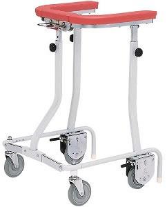 歩行器・シルバーカー 歩行器 折りたたみ式歩行車 [抵抗器付] [介護用品][リハビリ]歩行訓練【敬老の日 プレゼント ギフト】