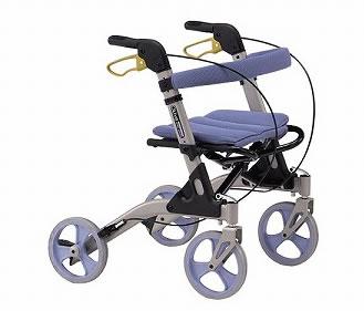 シルバーカー・歩行器 室外用 歩行器 折りたたみ式 オリーブ [介護用品][リハビリ]歩行訓練【敬老の日 プレゼント ギフト】