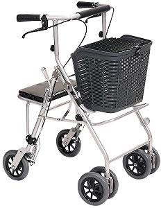 シルバーカー・歩行器四輪歩行車カーレマン [歩行器][介護用品][リハビリ]歩行訓練
