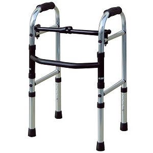 シルバーカー・歩行器ミニフレームウォーカー固定型 [歩行器 固定型][介護用品][リハビリ]歩行訓練