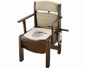 ポータブルトイレ 送料無料 木製きらくCOシリーズ COH-D型 / 48200 暖房便座・脱臭器付  介護用品 福祉用具
