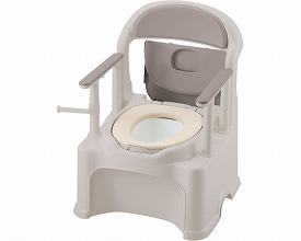 ポータブルトイレ 送料無料 きらくP2シリーズ PY2型 / 47540 やわらか便座  介護用品 福祉用具