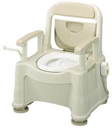 樹脂製ポータブルトイレ[座楽]SPあたたか パナソニック