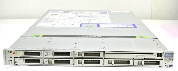 Sun Fire X4150 XeonL5420-2.5GHz*2/4GB/73G*3/RAID/DVD-RW/AC*2 【中古】 【20130517】