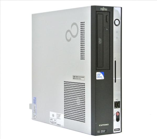 富士通 SLIM FMV-D530/A Celeron430/1GB/160GB/DVD/Win7Pro 【20130614】:TCEダイレクト店