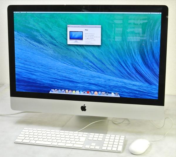 注目 Apple iMac Mid2011 27inch Corei5-2.7G/4G/1T/DVDRW/AirMAC/OSX 【】【20140926】, コーミングアース d3dccabd