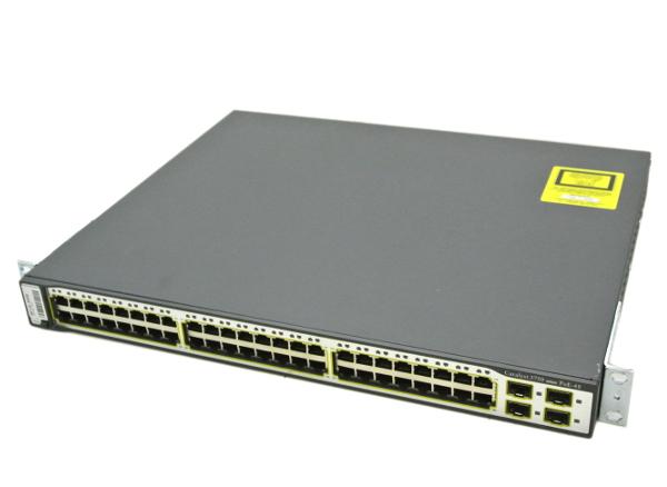 Cisco Catalyst 3750 PoE-48 WS-C3750-48PS-S V06 12.2(35)SE5 【20150814】:TCEダイレクト店