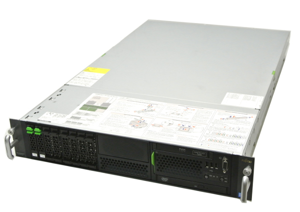 富士通 PRIMERGY RX300S5 XeonX5570/8GB/146GB*2/RAID/DVD/AC*2 【中古】【20160902】