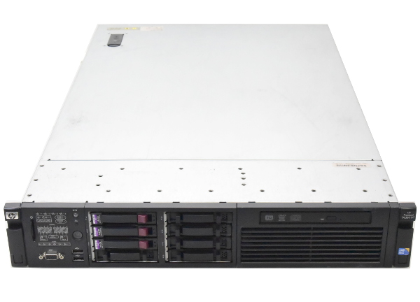 【 開梱 設置?無料 】 hp ProLiant DL380 G7 Xeon X5690 3.46GHz*2 24GB 146GBx3台 (SAS2.5インチ/6Gbps/RAID5構成) DVDマルチ AC*2 SmartArray-P410i 【】【20170223】, 横須賀市 bb3885f7