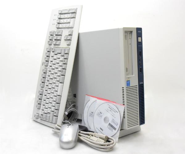 NEC MK35L/B-J Core i3-4150 3.5GHz 4GB 500GB DisplayPort2系統/アナログRGB DVD-ROM Windows8.1Pro64bit 【中古】【20170309】