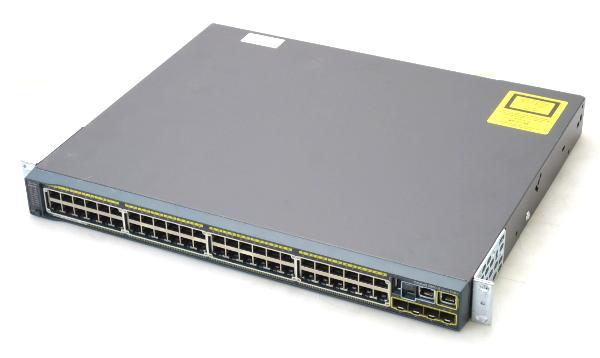 専門ショップ Cisco Catalyst 2960-S WS-C2960S-48FPS-L V01 PoE+ 48ポートGbE FlexStack PoE+対応48ポートGbE 4ポートSFP 設定初期化済 【】【20170404】, 家具サロン エルム 56b32198