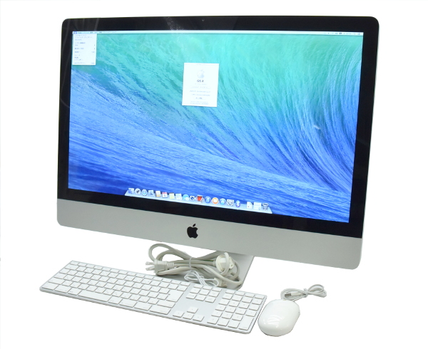 【人気商品!】 Apple iMac 27インチ Core i7 2.93GHz/8GB/1TB/Radeon HD 5750/DVD/OSX Mid 2010 WQHD 2560x1440ドット OSX10.9.5 【】【20170710】, タマリムラ 7ccb4bf8
