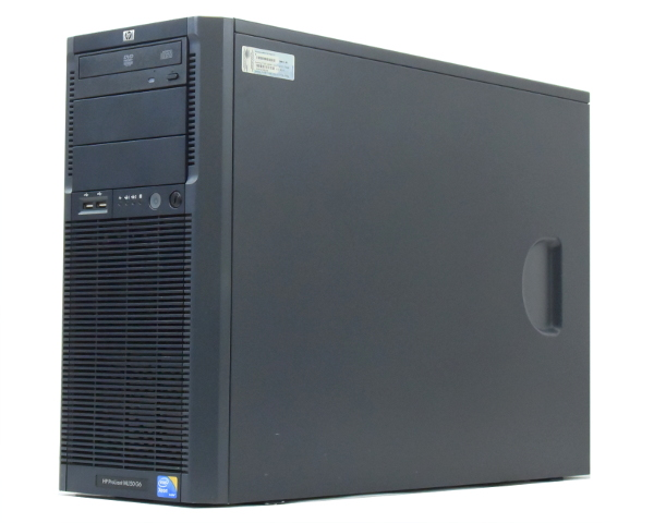 hp ProLiant ML150 G6 Xeon E5506 2.13GHz 8GB 300GBx3台(SAS3.5インチ/6Gbps/RAID5構成) DVD-ROM SmartArray-P410 【中古】【20170906】