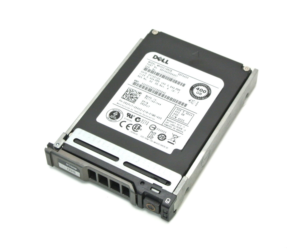 DELL 0R2PJ7 TOSHIBA MK4001GRZB Enterprise SLC SSD 400GB PowerEdgeシリーズ用2.5インチ SAS 【20171208】:TCEダイレクト店