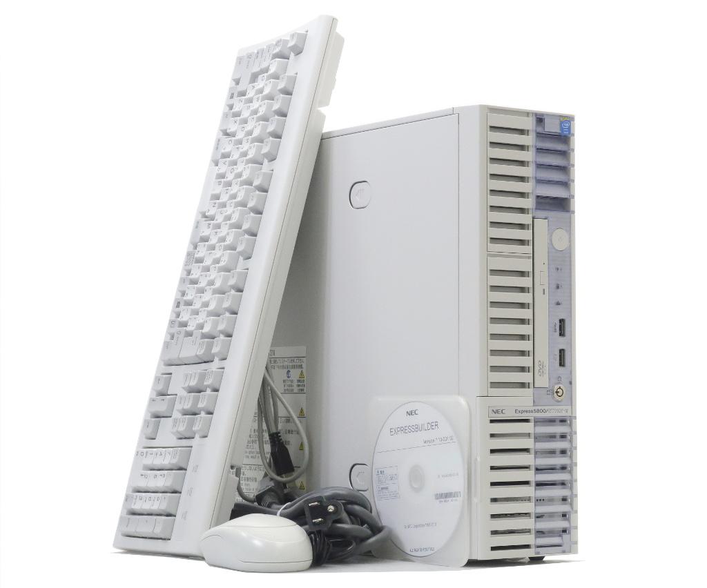 NEC Express5800/GT110f-S Xeon E3-1220v3 3.1GHz 8GB 500GBx2台(SATA2.5インチ/RAID1構成) DVD-ROM SATA RAID 【中古】【20180326】