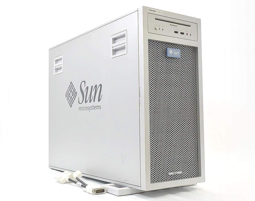 東芝 AS7000 U25 (Sun Ultra 25 OEM) UltraSPARC-3i 1.33GHz 4GB 250GB(SATA3.5インチ) XVR-300 DVD+-RW 【中古】【20180403】