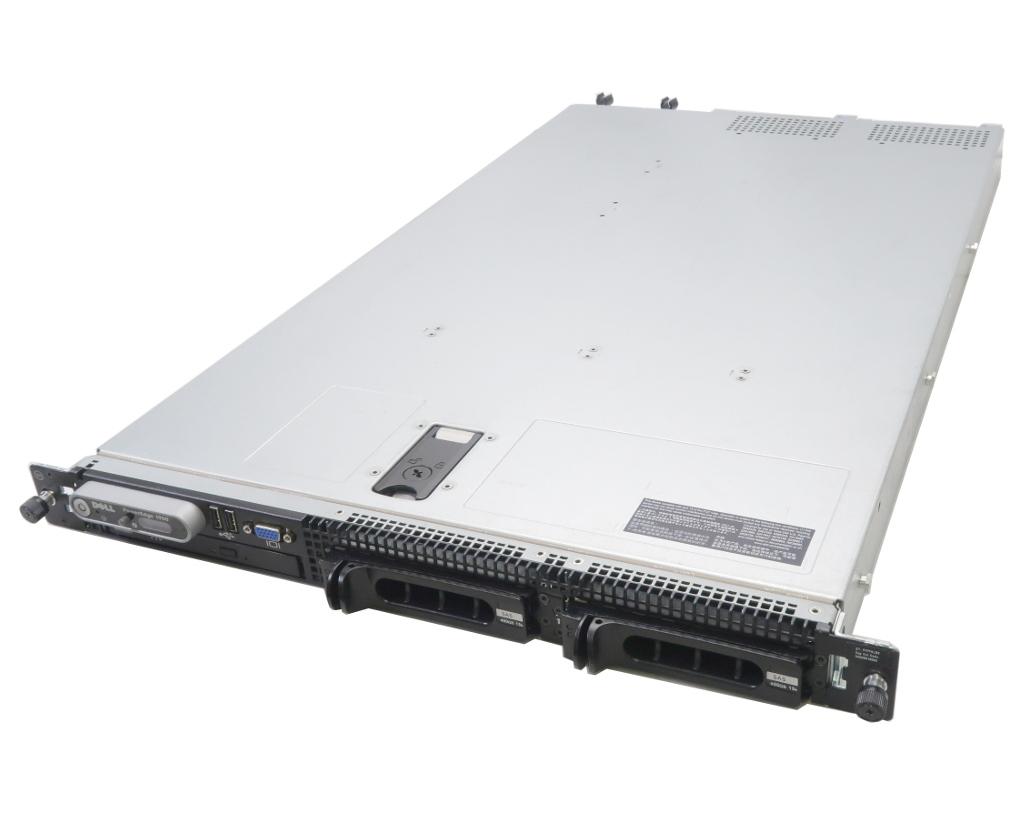 DELL PowerEdge 1950 III 冗長電源 Xeon L5410 2.33GHz*2 16GB 450GBx2台(SAS3.5インチ/3Gbps/RAID1構成) COMBO AC*2 PERC 6/i 【中古】【20180420】