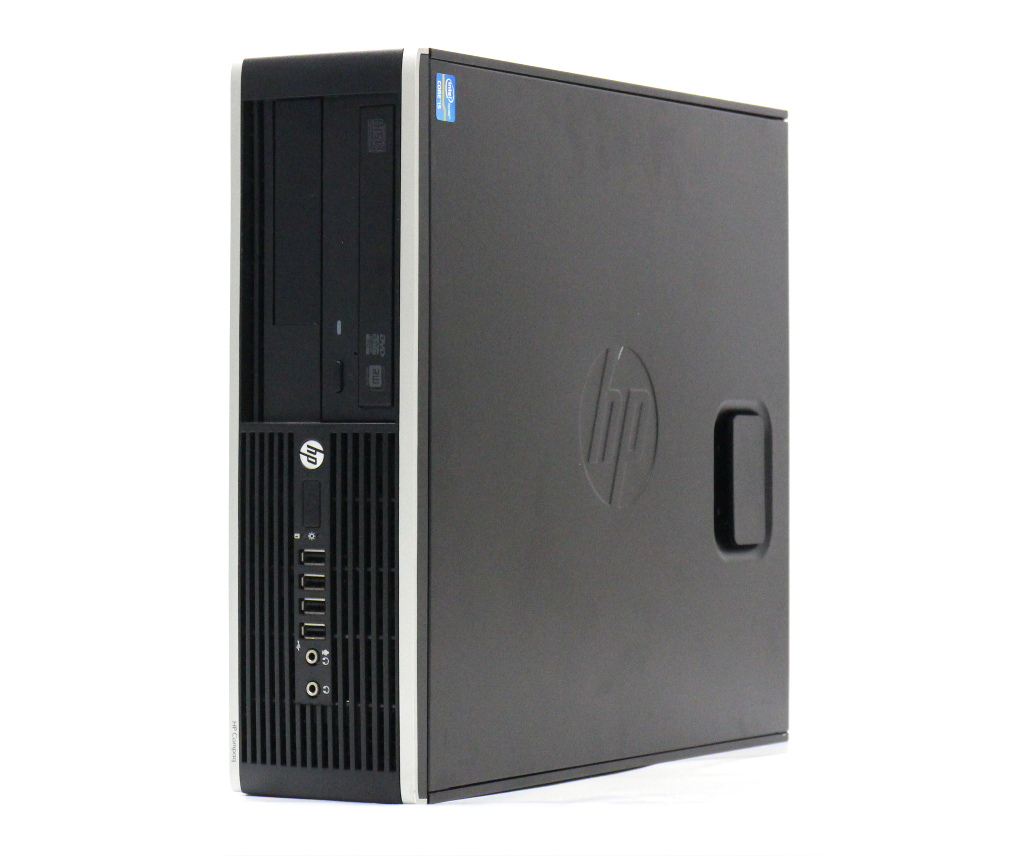 hp Compaq Pro 6300 SFF Core i5-3470 3.2GHz 4GB 500GB DisplayPort/アナログRGB出力 DVD+-RW Windows7 Pro 64bit 【中古】【20180423】