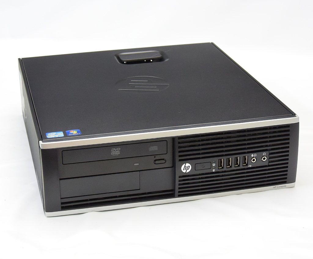 hp Compaq 8300 Elite SFF QV996AV Core i5-3470 3.2GHz 4GB 500GB DisplayPort/アナログRGB出力 DVD-ROM Windows7 Pro 64bit 【中古】【20180406】