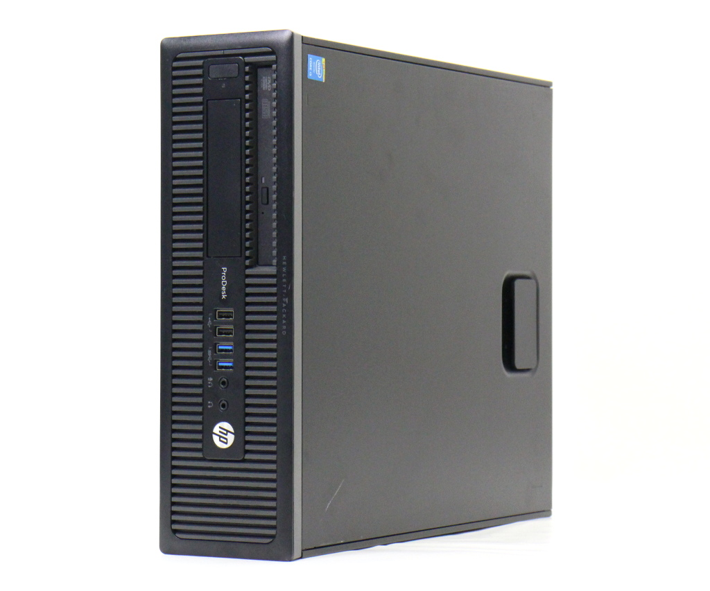hp ProDesk 600 G1 SFF Core i5-4590 3.3GHz 4GB 500GB DisplayPort/アナログRGB出力 DVD-ROM Windows7 Pro 64bit 【中古】【20180611】