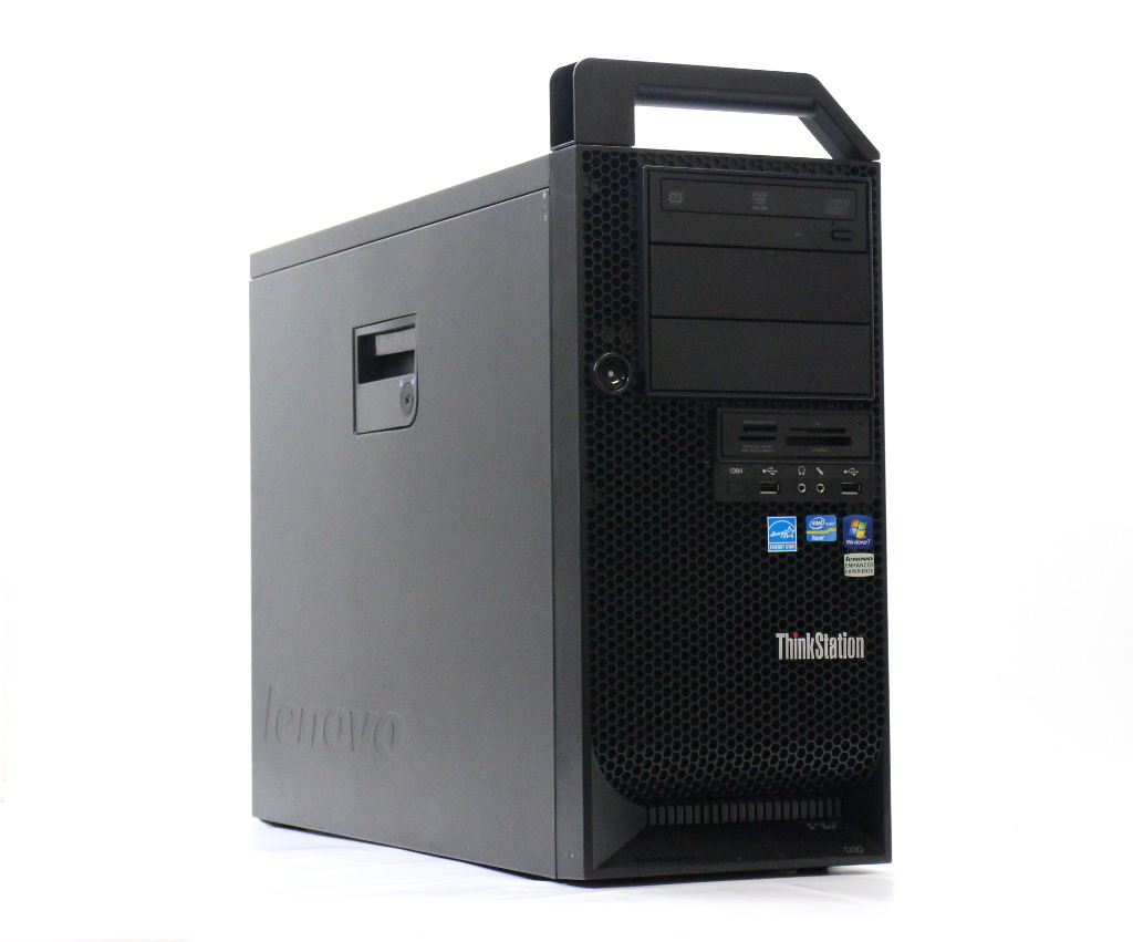 Lenovo ThinkStation D30 4223-CTO Xeon E5-2643 3.3GHz*2 32GB 500GB Quadro2000 DVD+-RW Windows7 Pro 64bit 【中古】【20180725】