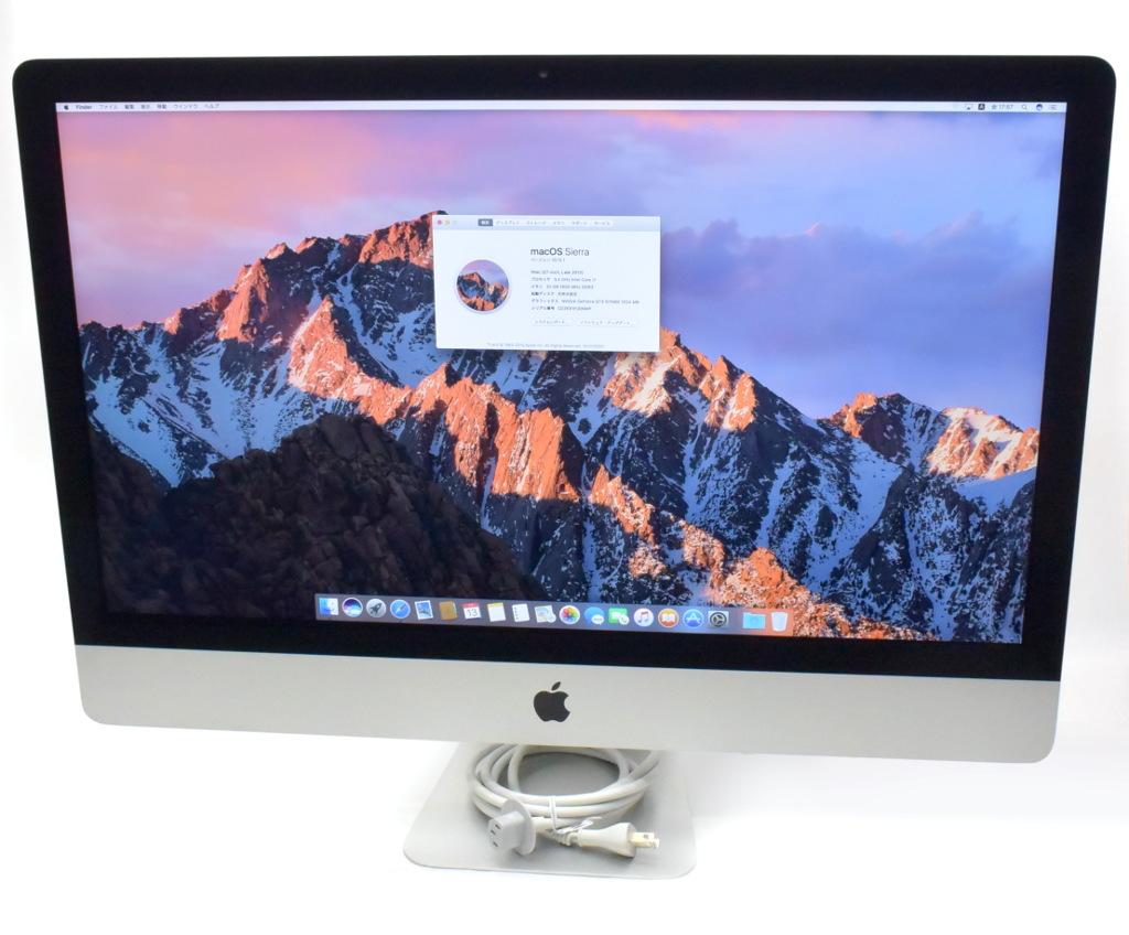 贅沢 Apple iMac 27インチ Core i7-3770 3.4GHz 32GB 1TB GeForce GTX675MX WQHD 2560x1440 macOS Sierra 10.12.1 Late 2012 A1419 【】【20180725】, 広尾郡 c75a4133