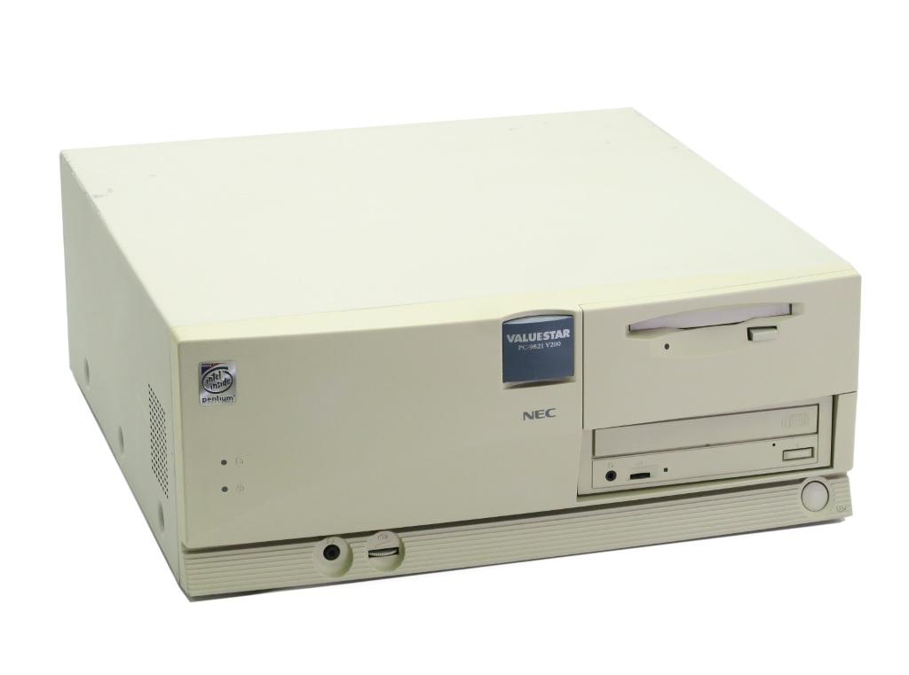 NEC PC-9821V200/S5D2 MMX Pentium 200GHz 32MB(32MBx1枚構成) 2.1GB CD-ROM FDD IFC-DP SCSIボード 【中古】【20180722】