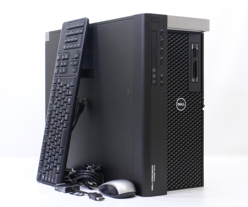 DELL Precision Tower 7910 Xeon E5-2680v3 2.5GHz*2 32GB 256GB(SSD) 2TB(HDD) Quadro K4200 DVD+-RW Windows7 Pro 64bit 【中古】【20180805】