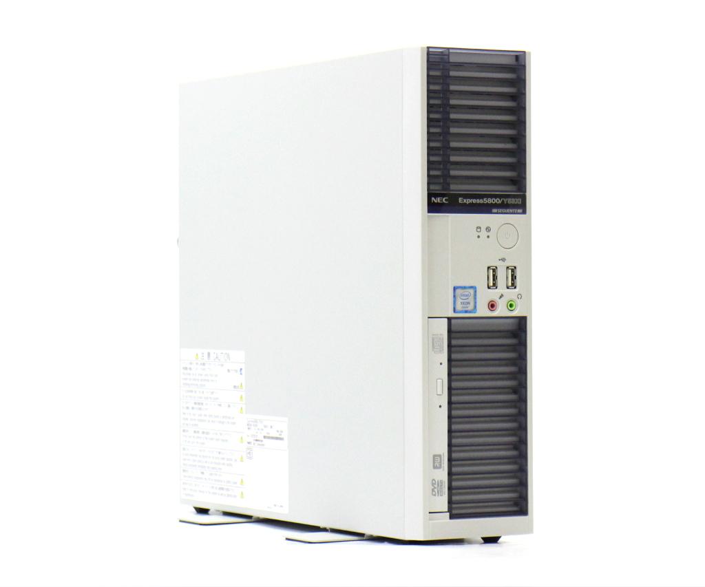 NEC Express5800/Y53Xi Xeon E3-1275v3 3.5GHz 16GB 500GB DisplayPort/アナログRGB出力 DVD+-RW Windows10 Pro 64bit 【中古】【20180803】