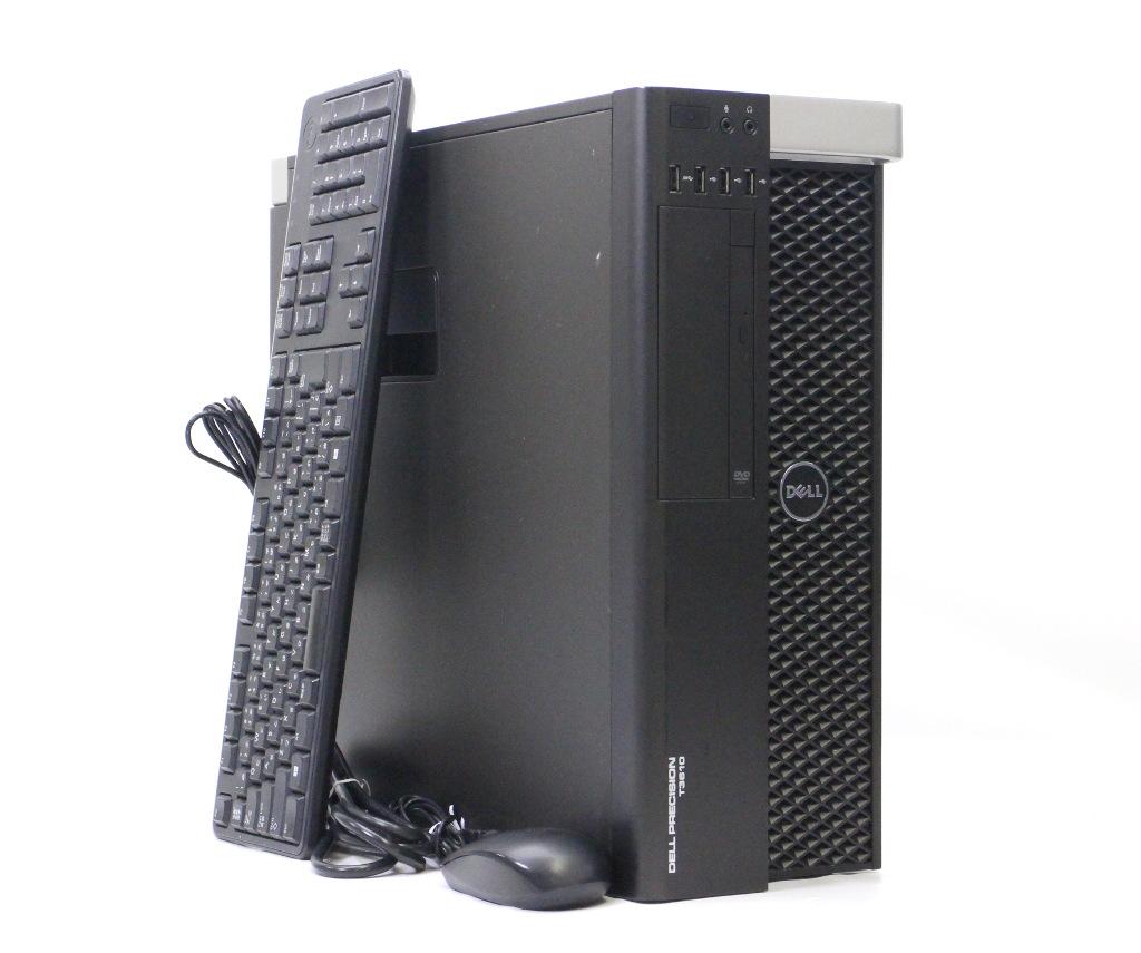 DELL Precision T3610 Xeon E5-1620v2 3.7GHz 8GB 500GB Quadro K2000 DVD-ROM Windows7 Pro 64bit 【中古】【20180824】
