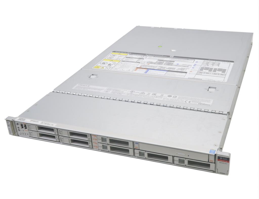 Sun ORACLE Server X5-2 Xeon E5-2630v3 2.4GHz*2 32GB 400GBx2台(SSD/RAID1) 600GBx2台(RAID1) DVD+-RW AC*2 LSI Mega RAID 【中古】【20180826】