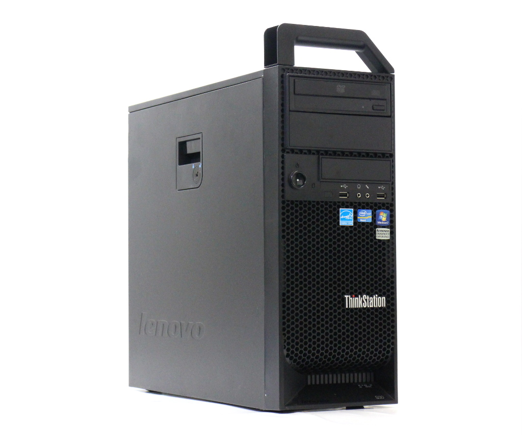 Lenovo ThinkStation S30 0569-2R0 Xeon E5-1620 3.6GHz 8GB 500GB Quadro2000 DVD-ROM Windows7 Pro 64bit 【中古】【20180821】