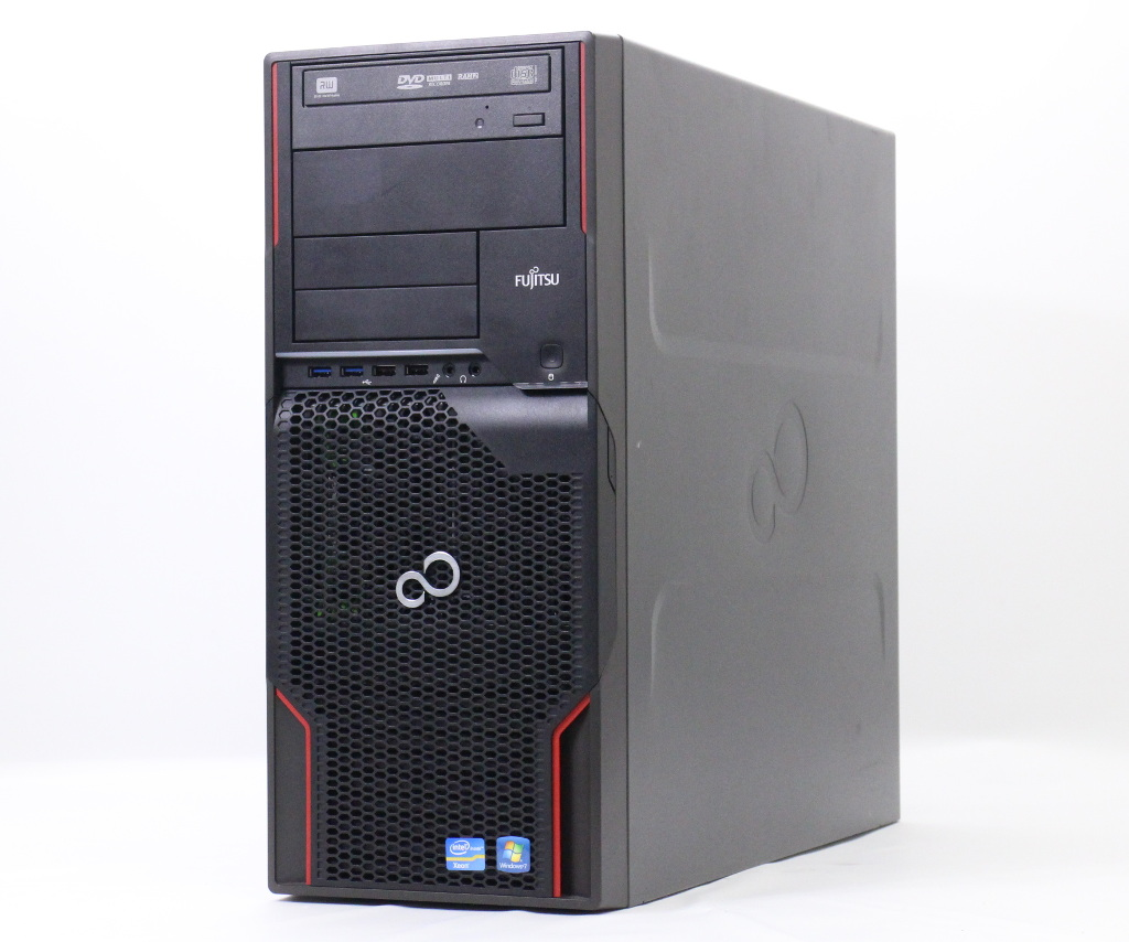 富士通 CELSIUS M720 Xeon E5-1650 3.2GHz 8GB 500GB Quadro600 DVD+-RW Windows10 Pro 64bit(MAR) 【中古】【20180919】