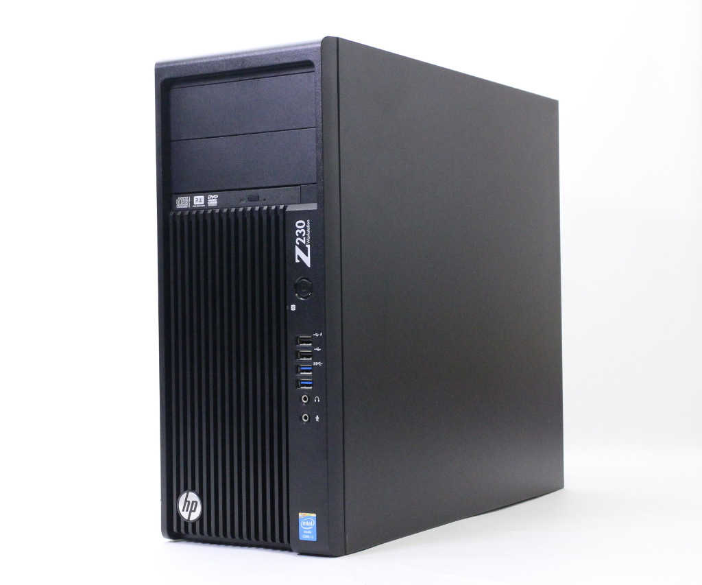 hp Z230 TW Core i3-4330 3.5GHz 4GB 500GB Quadro K600 DVD+-RW Windows7 Pro 64bit(8Proダウングレード) 【中古】【20180926】