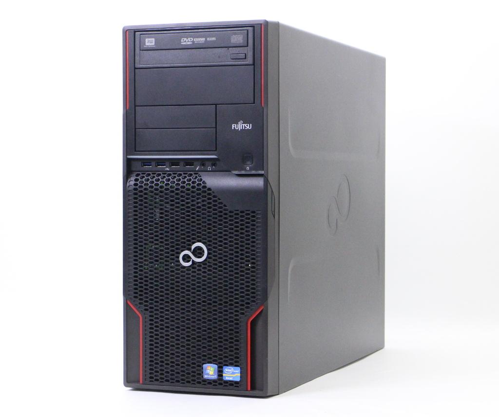 富士通 CELSIUS W520 Xeon E3-1245v2 3.4GHz 16GB 250GB Quadro600 DVD+-RW Windows10 Pro 64bit(MAR) 【中古】【20180926】