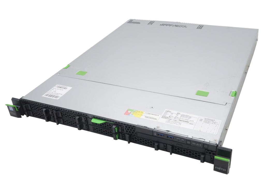 富士通 PRIMERGY RX1330 M1 Xeon E3-1220v3 3.1GHz 12GB 300GBx2台(SAS2.5インチ/6Gbps/RAID1構成) DVD-ROM PSAS CP400i 【中古】【20180928】