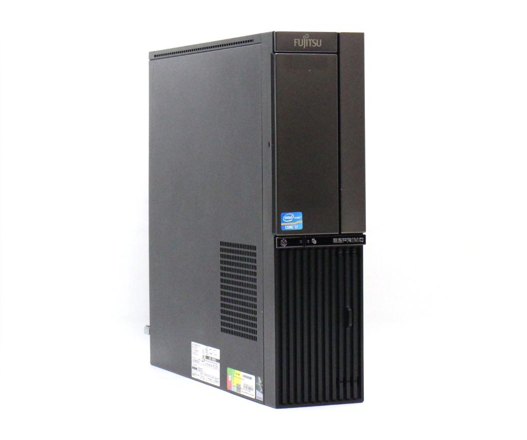 富士通 ESPRIMO DH77/J Core i7-3770 3.4GHz 8GB 2TBx2台構成 アナログRGB/DVI-D出力 BD-RE Windows10 Home 64bit(MAR) 【中古】【20180920】