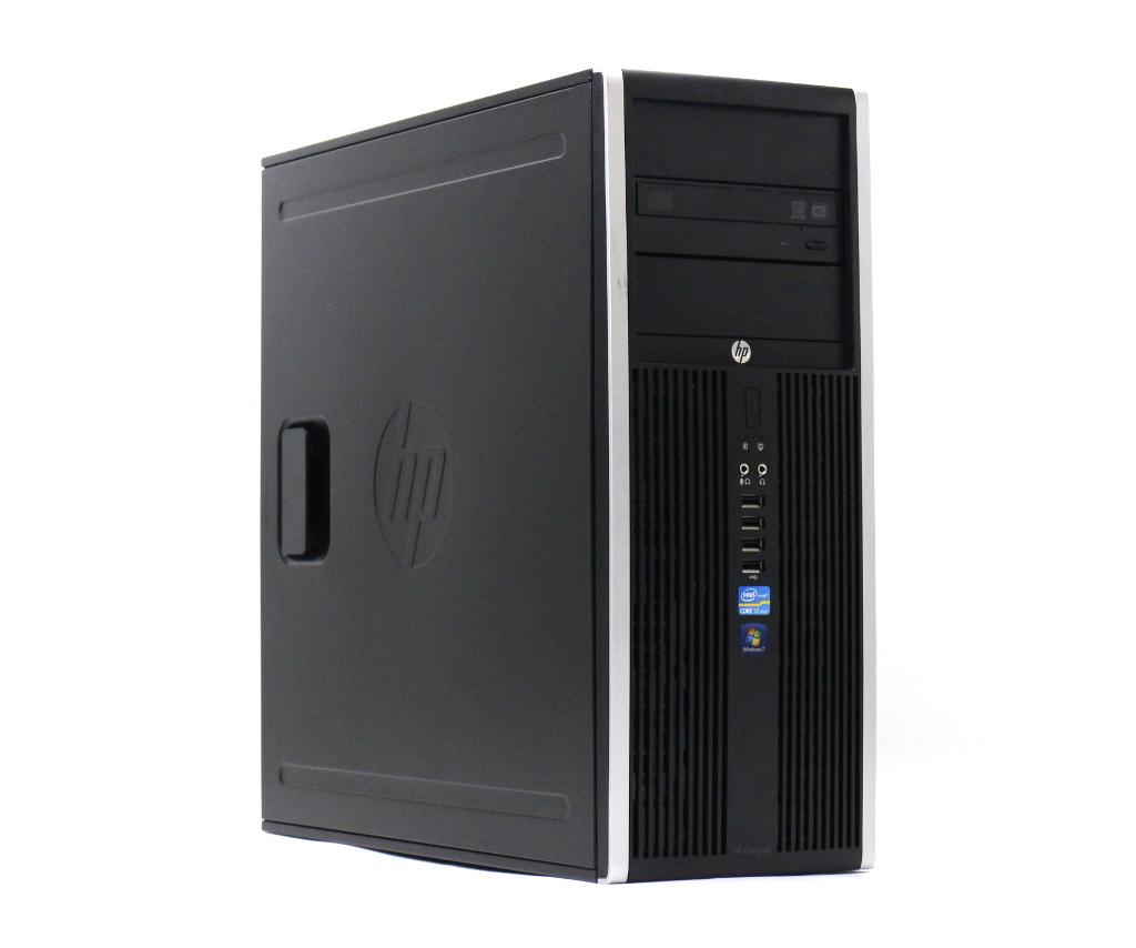 hp Compaq Elite 8300 CMT Core i7-3770 3.4GHz 8GB 128GB(SSD) 500GB Radeon HD7450 DVD+-RW Windows7 Pro 64bit 【中古】【20180920】