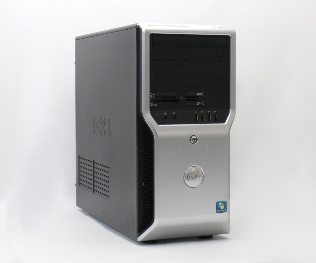 DELL Precision T1500 Core i7-860 2.8GHz 4GB 500GB FirePro V3750 DVD+-RW Windows7 Pro 64bit 【中古】【20180927】