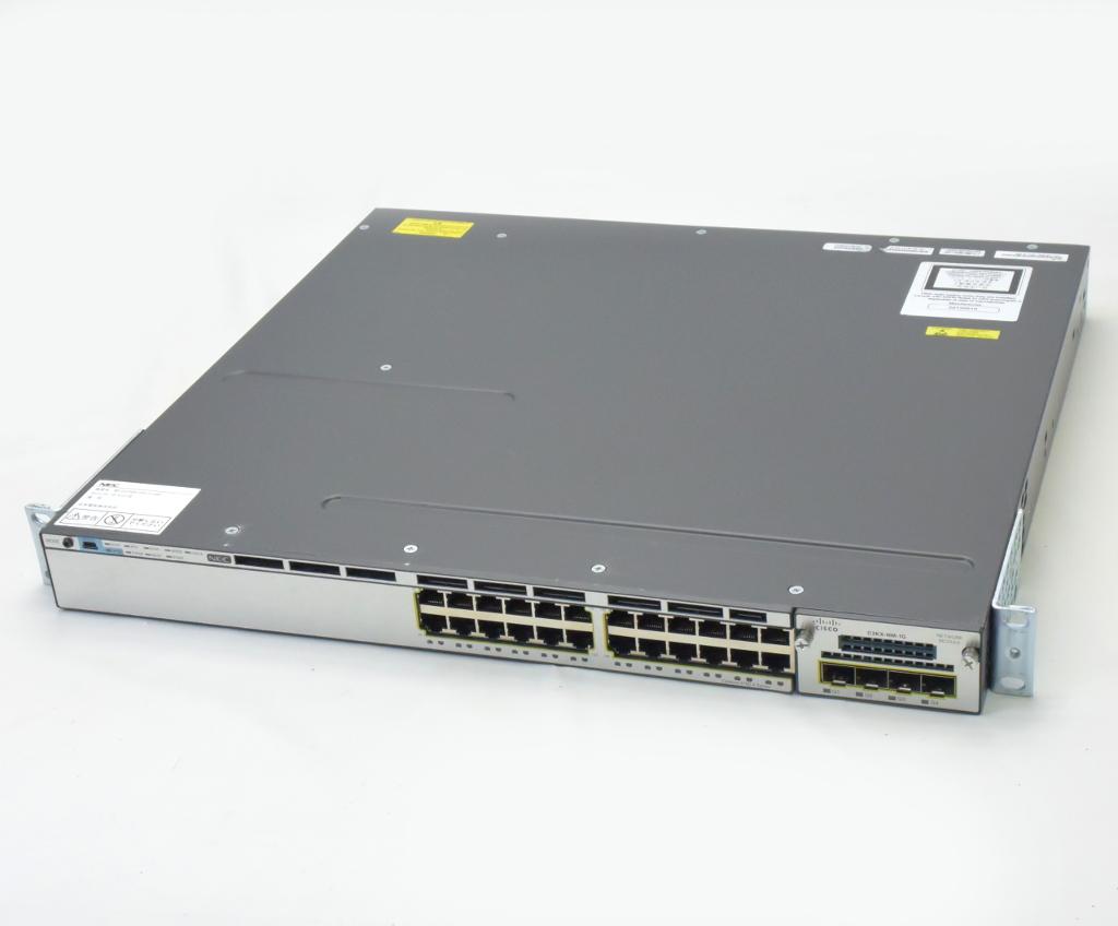 【2019春夏新色】 Cisco Catalyst Catalyst 3750-X Cisco 3750-X WS-C3750X-24T-S V03 Ver.15.0(2)SE IPServices 設定初期化済【中古】【20180914】, 花のアリマツ:8d6e22bd --- ges.me