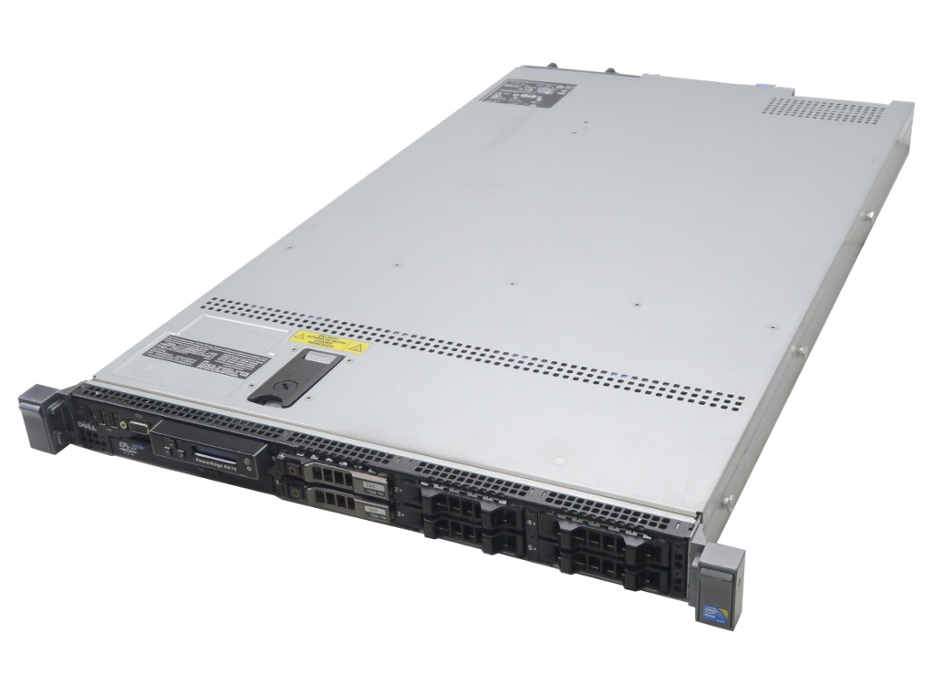 DELL 6GB PowerEdge R610 Xeon L5520 Xeon 2.26GHz 6GB 73GBx2台(SAS2.5インチ SAS/6Gbps/RAID1構成) DVD-ROM AC*2 SAS 6i/R【中古】【20181008】, 芸濃町:10a70fab --- officewill.xsrv.jp