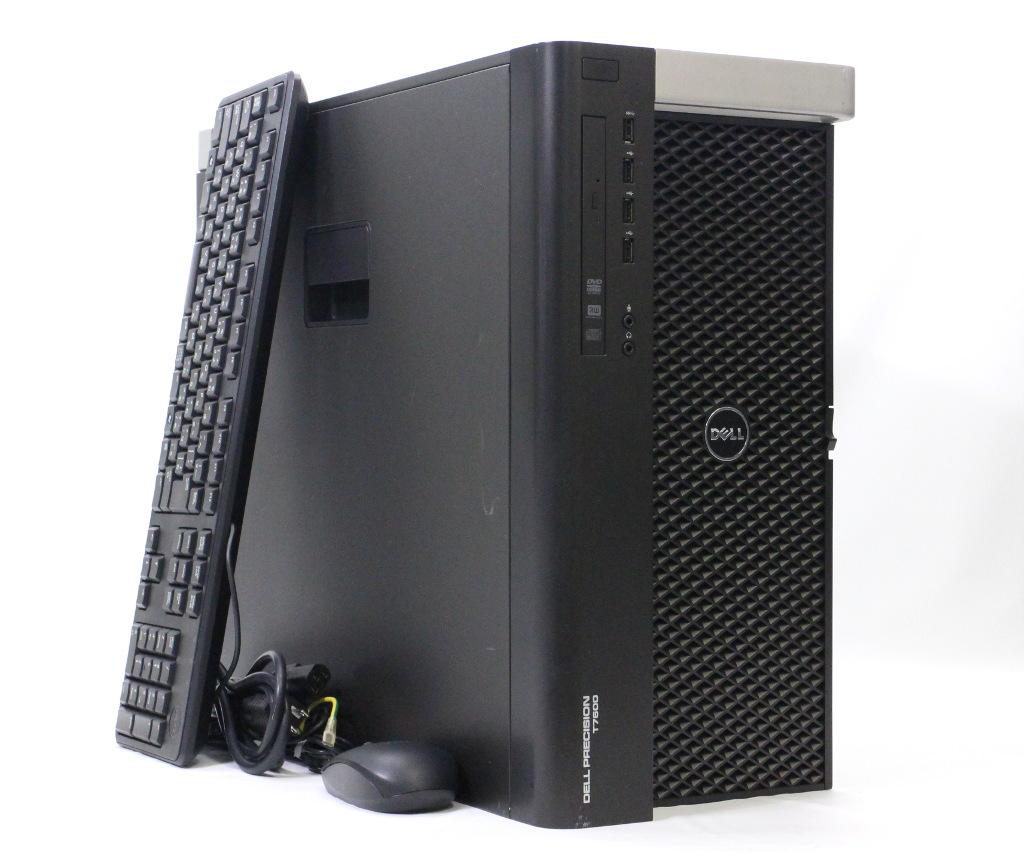 DELL Precision T7600 Xeon E5-2667 2 9GHz *2 32GB 500GBx2 stand constitution  Quadro 5000 DVD+-RW Windows7 Pro 64bit PERC H310