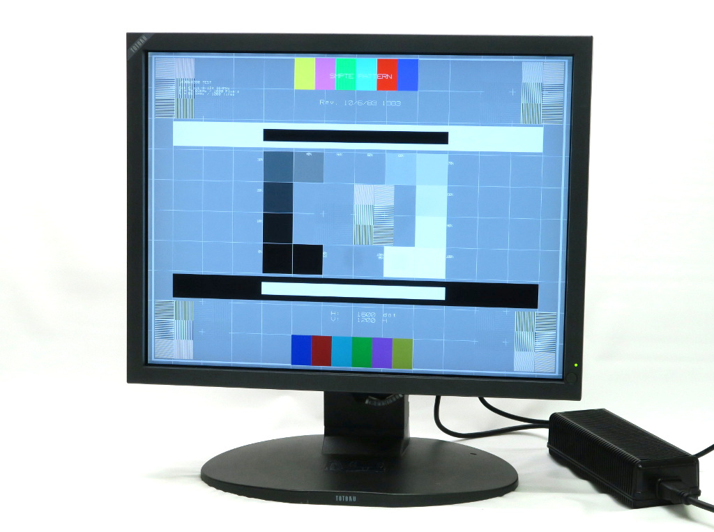 TOTOKU CCL212/r-f 21.3インチ スクエア UXGA 1600x1200ドット アナログRGB/DVI-D入力 48h 【中古】【20181019】