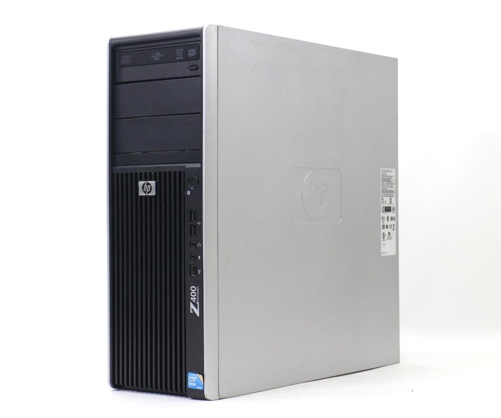 hp Z400 (水冷モデル) Xeon W3565 3.2GHz 8GB 500GB Quadro 4000 DVD+-RW Windows7 Pro 64bit 【中古】【20181026】