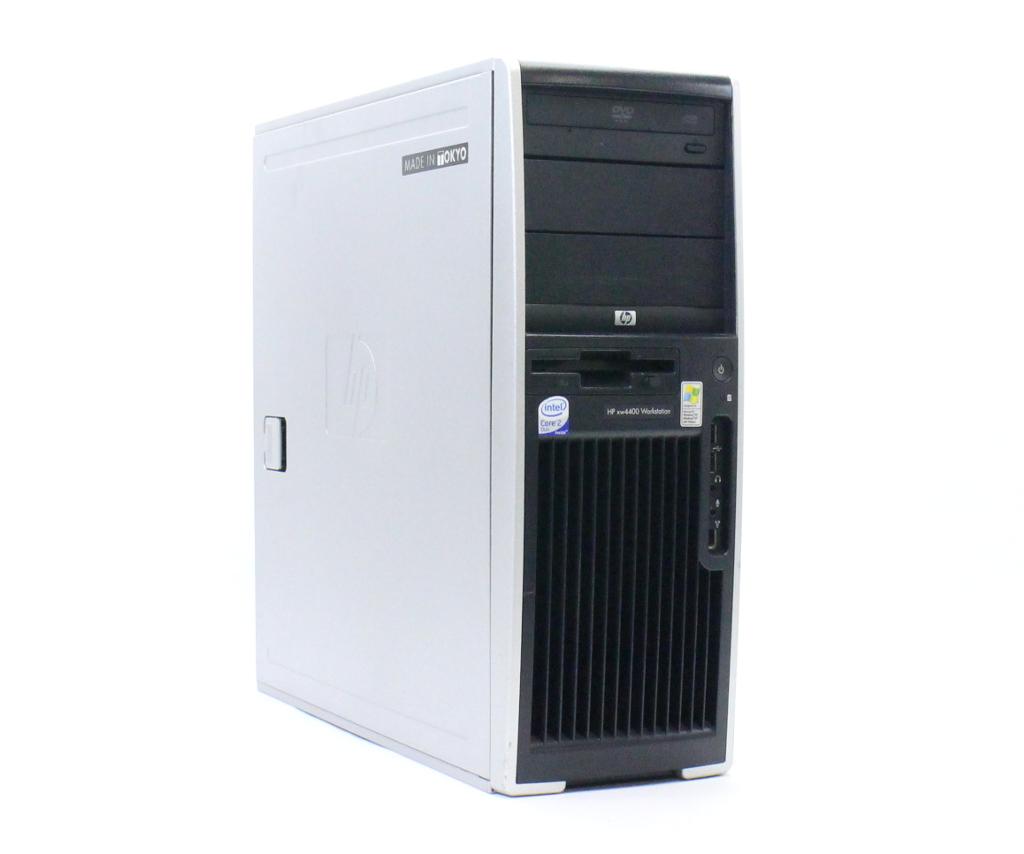 hp xw4400 Core2Duo E6600 2.40GHz 2GB 160GB Quadro FX560 XP Pro 32bit 【中古】【20181012】