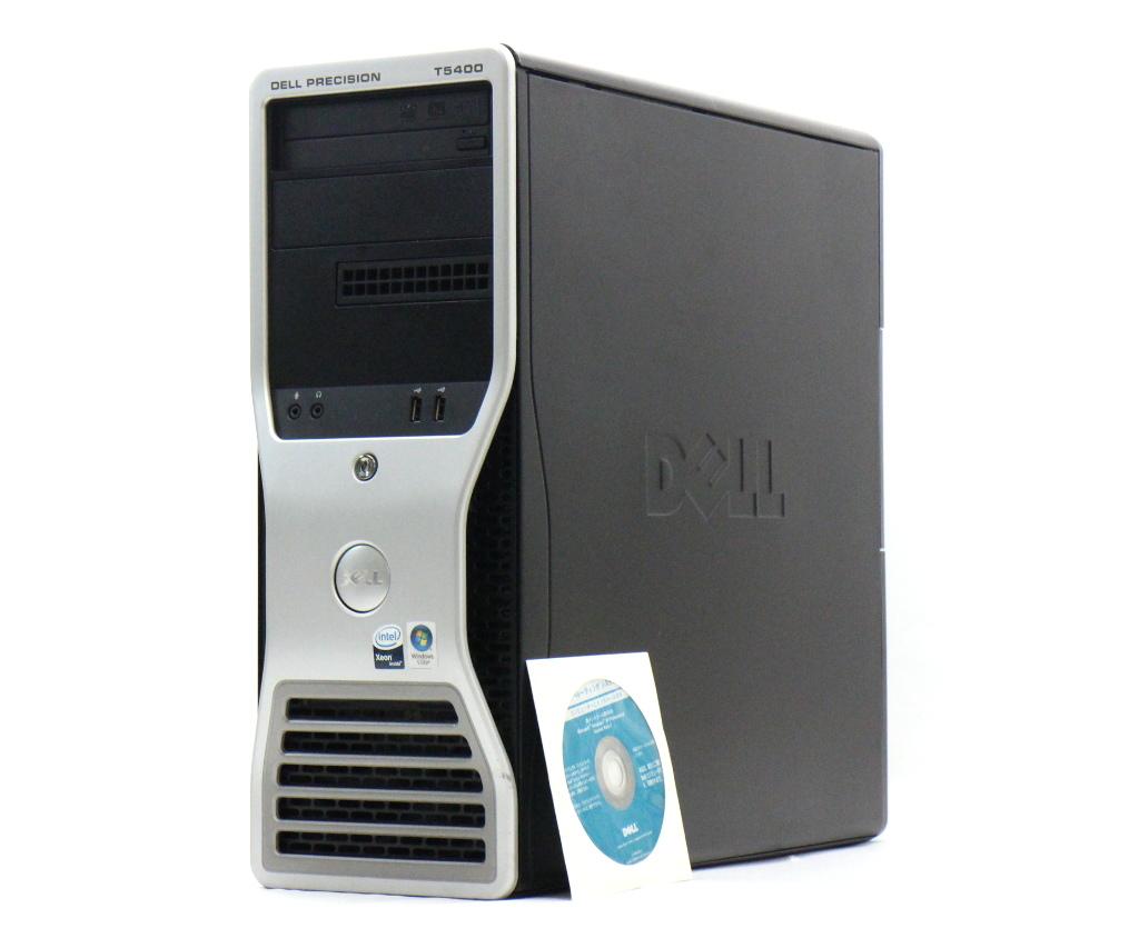 DELL Precision T5400 Xeon E5420*2 2.50GHz 4GB 320GB FX1700 XP Pro 32bit 【中古】【20181016】