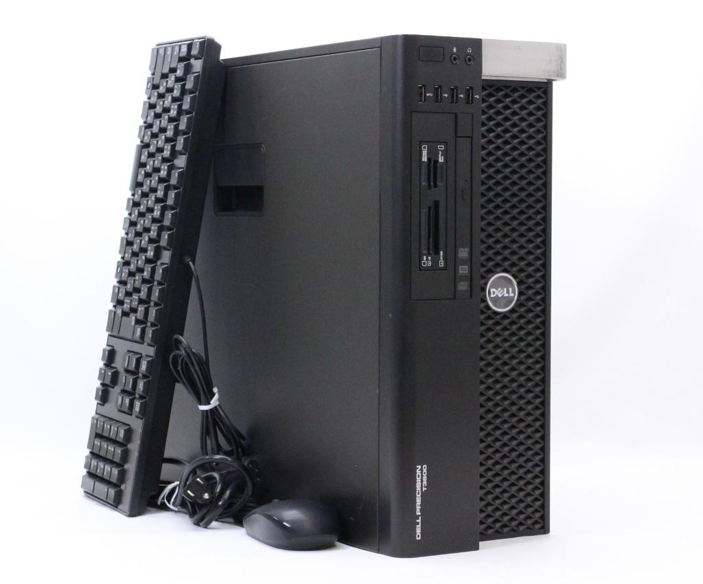 DELL Precision T3600 Xeon E5-1607 3GHz 8GB 500GB Quadro 600 DVD+-RW Windows7 Pro 64bit PERC H310 【中古】【20181016】